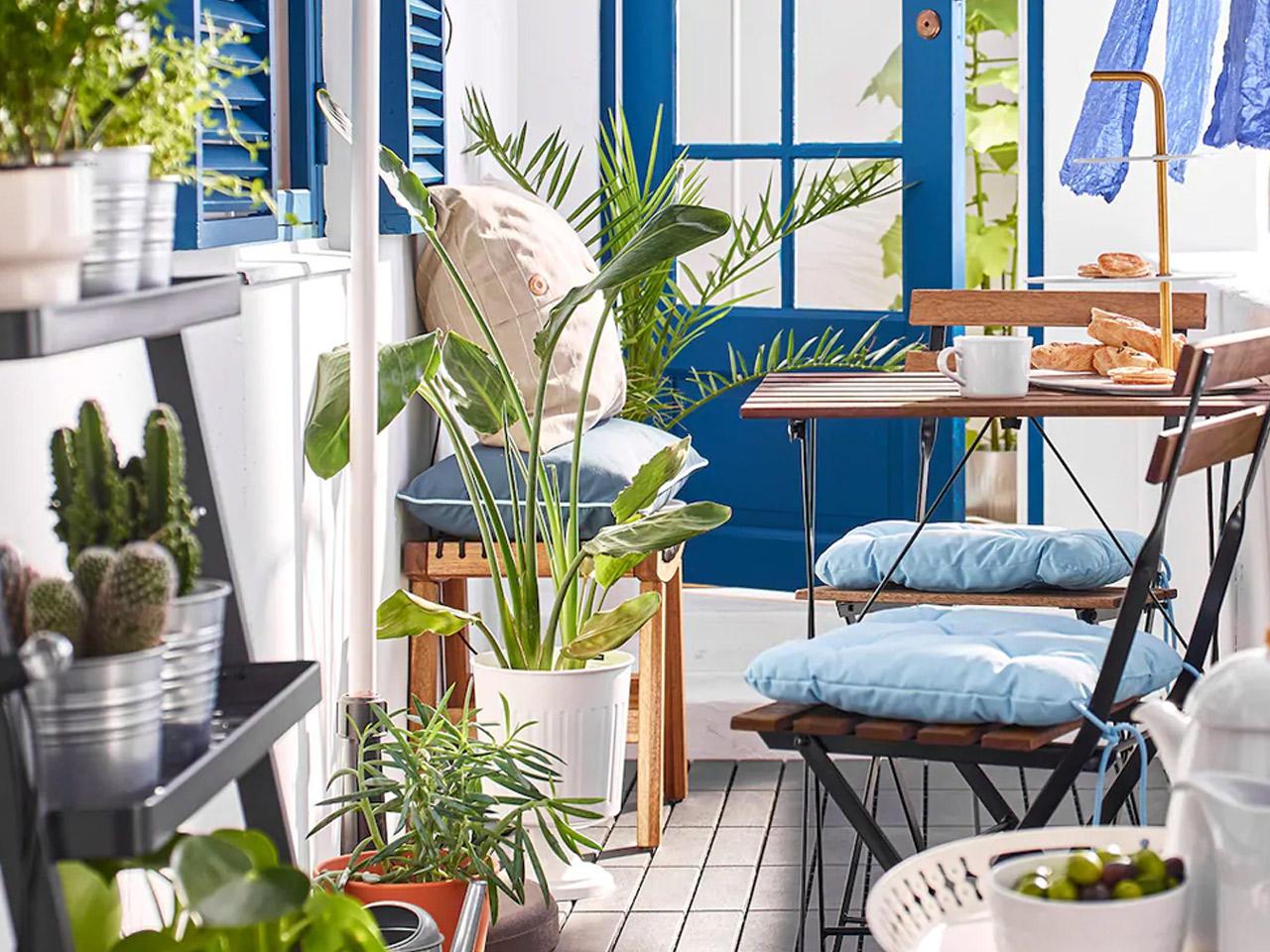 מרפסות יפות עיצוב מרפסת איקאה IKEA