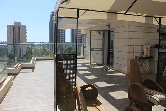 מרפסות יפות לפני עיצוב המרפסת בהוד השרון