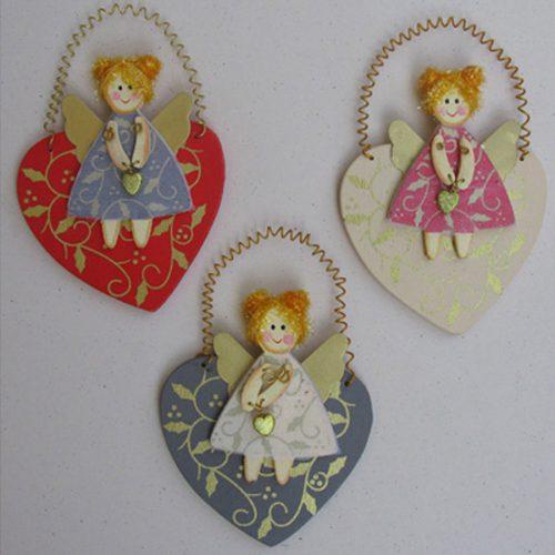 מלאך לב עלים עיצוב חדר ילדים