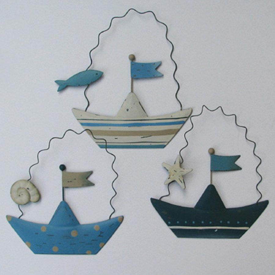 סירות פח ספירלה לעיצוב חדר ילדים