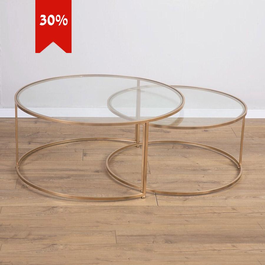 שולחן-סלון-COMET-זהב-מרפסות-יפות-SHOPPING-IL