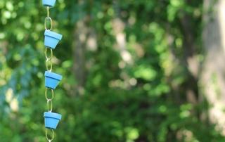 מרפסות יפות עיצוב מרפסת שרשרת למרזב