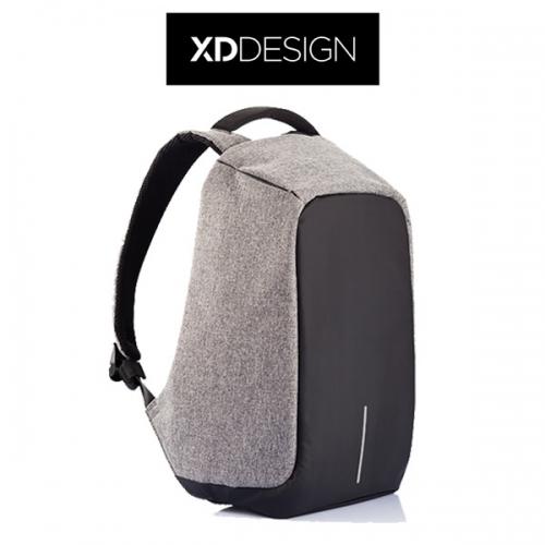 תיק בובי נגד גניבות אפור XD DESIGN