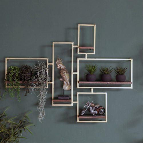 מדפים מחוברים לעיצוב הבית