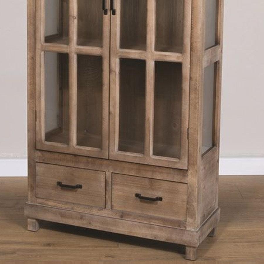 ויטרינה עץ לעיצוב מטבח מרפסות יפות