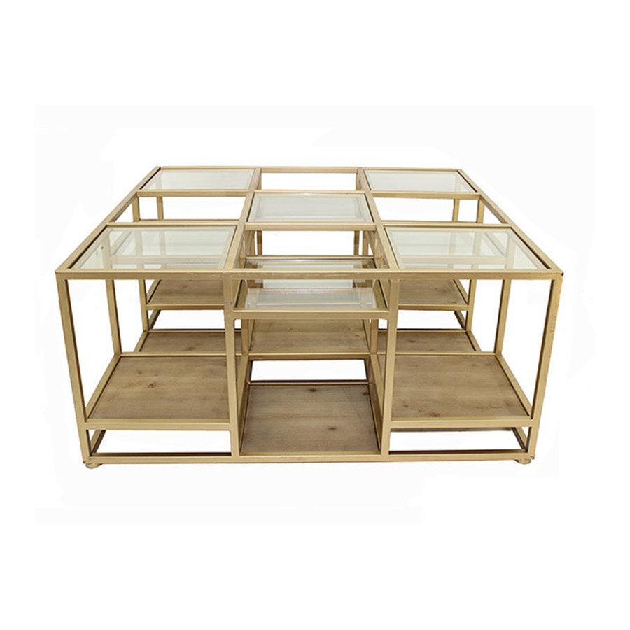 שולחן סלון Gold Aya מרפסות יפות