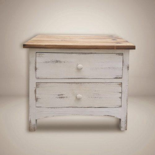 שידת-לילה-EARTH-עץ-בצבע-לבן-מרפסות-יפות