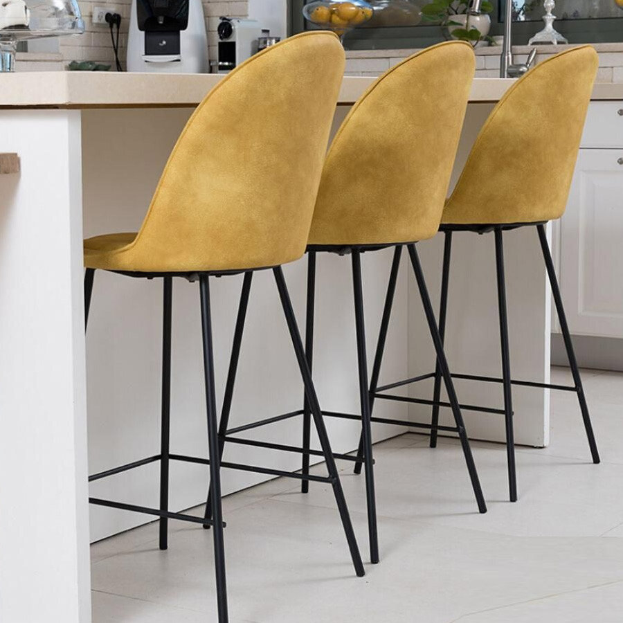 כיסא בר חרדל בלגיה מרפסות יפות
