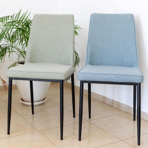 כיסא מעוצב שחר מרפסות יפות