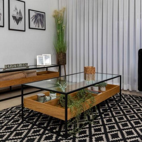 שולחן-סלון-ALMOG-מלבן-בצבע-אלון