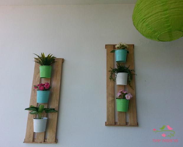 גינת DIY לקיר המרפסת מרפסות יפות