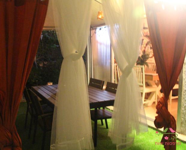 המרפסת של יובל לאחר העיצוב של מרפסות יפות