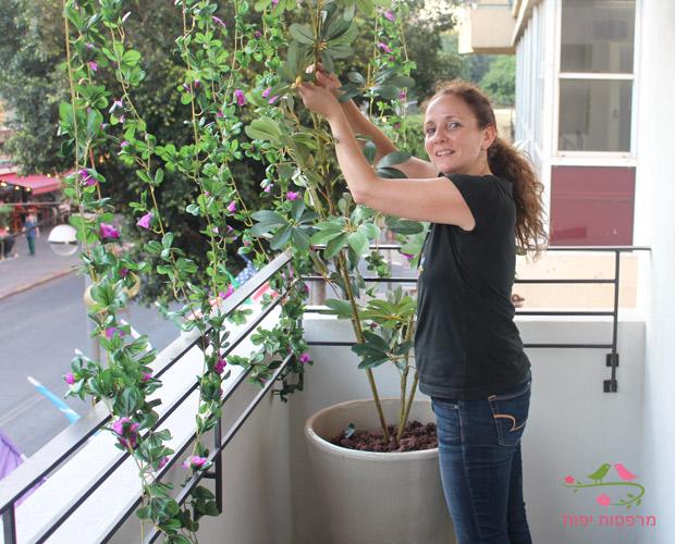 ענבר מעצבת מרפסות יפות בעיצוב מרפסת בתל אביב