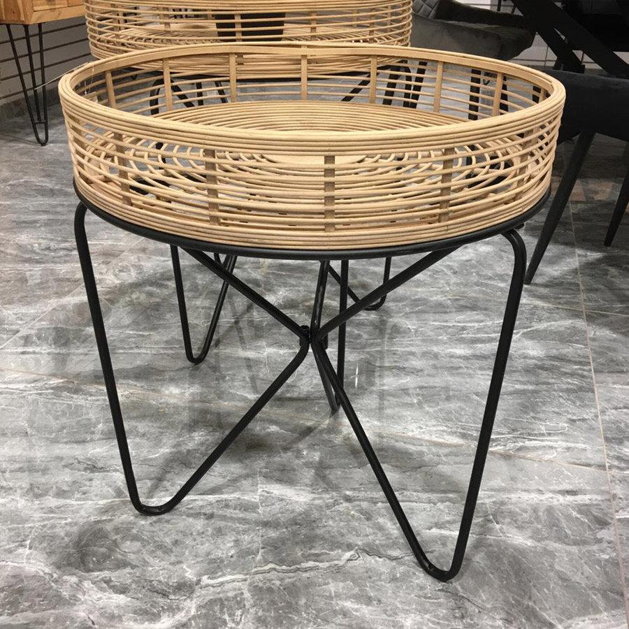 מרפסות יפות עיצוב הבית שולחן במבוק טבעי לרכישה