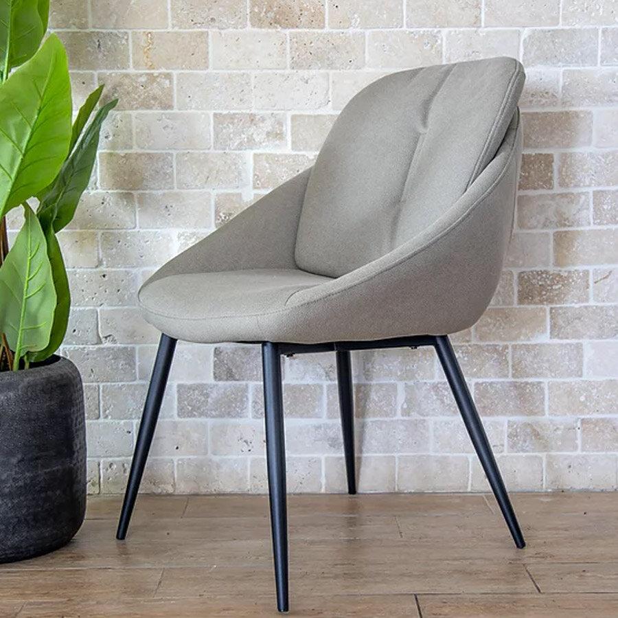 כיסא בולוניה בצבע בז