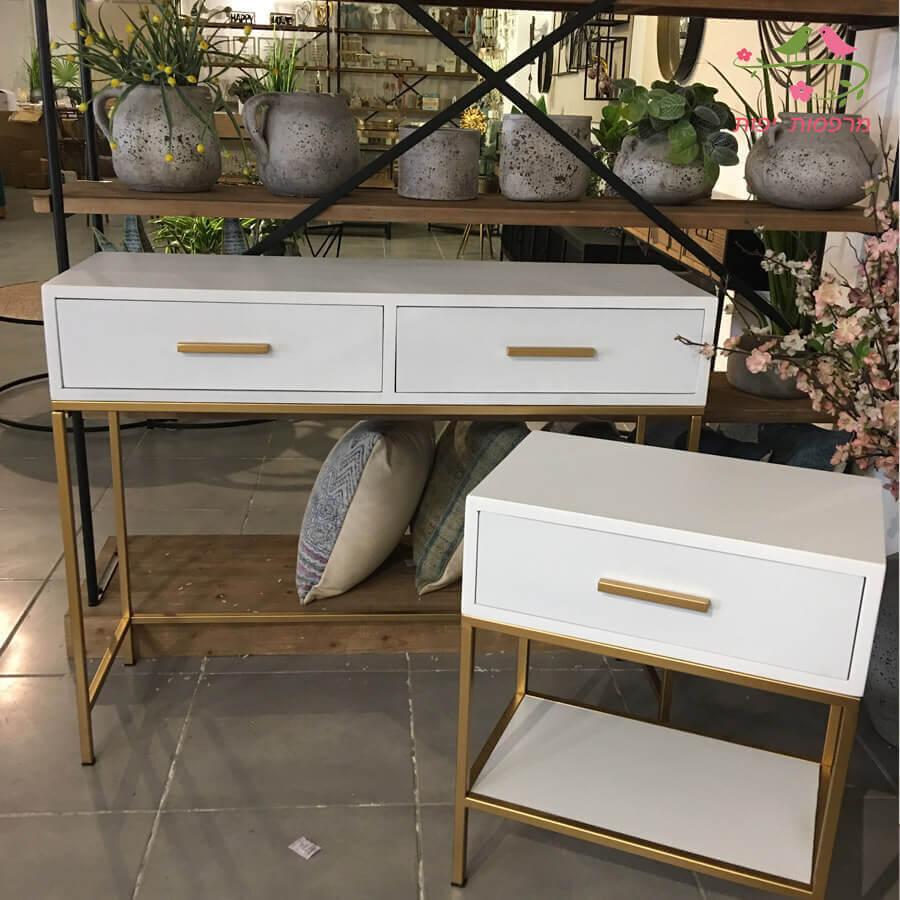 סדרת MOON לעיצוב חדר שינה לבן לרכישה באתר מרפסות יפות