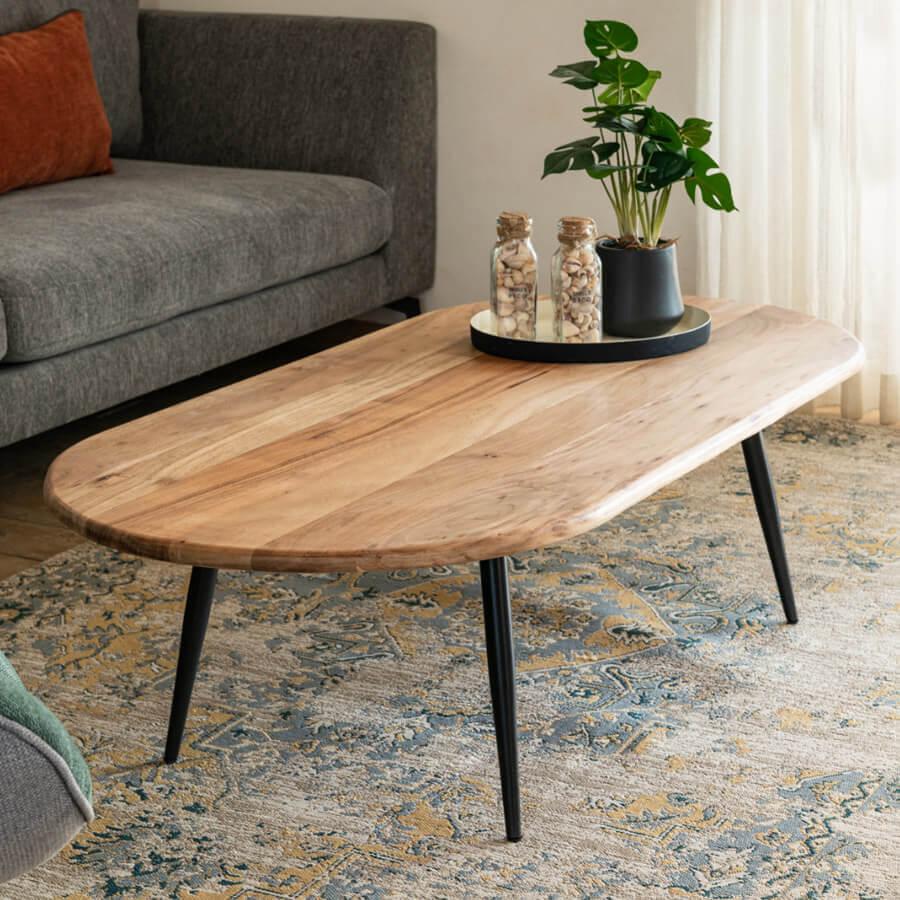 שולחן סלון מעוצב אוליביה רחב