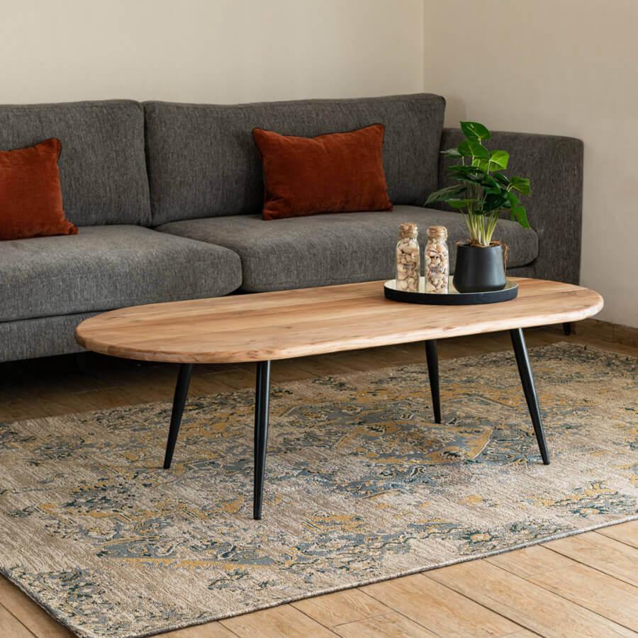 שולחן סלון מעוצב דגם אוליביה